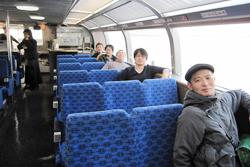 水上バスに乗りました!